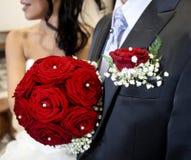 Mariage, heureux et amusement pour tout le monde photo libre de droits