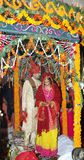 Mariage indien indou traditionnel Photo stock