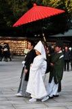 Mariage japonais Photographie stock libre de droits
