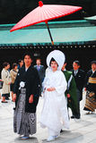 Mariage japonais traditionnel Photo stock