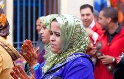Mariage musulman, Maroc Photographie stock libre de droits