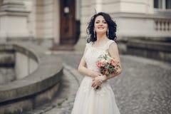 Mariage royal dans la vieille ville Photographie stock