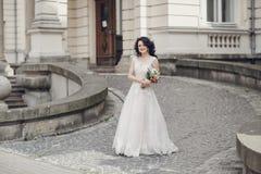 Mariage royal dans la vieille ville Photos libres de droits