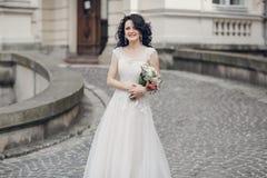 Mariage royal dans la vieille ville Image stock