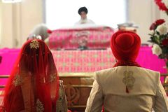 Mariage sikh images stock