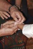 Mariage thaï Photos libres de droits
