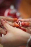 Mariage traditionnel malais. Photo libre de droits