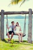 Mariage tropical photo libre de droits