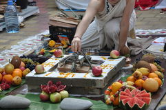 Mariage Vedic Photo libre de droits