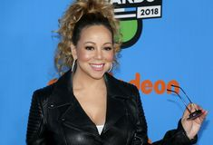 Mariah Carey royaltyfria bilder