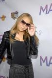 Mariah Carey alla sua sign CD. immagini stock libere da diritti