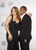 Mariah Carey e Nick Cannon Fotografie Stock