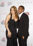 Mariah Carey en Nick Cannon Stock Foto's