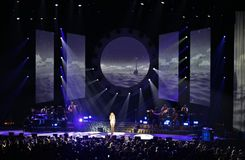 Mariah Carey at the Ericsson Globe in Stockholm Royalty Free Stock Photo