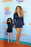 Mariah Carey et Monroe Cannon Photographie stock