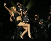 Mariah Carey führt im Konzert durch stockfoto