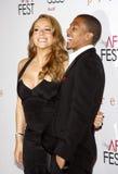 Mariah Carey i Nick Cannon Fotografia Royalty Free
