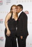 Mariah Carey i Nick Cannon Fotografia Stock