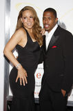 Mariah Carey i Nick Cannon Obraz Stock