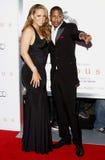 Mariah Carey i Nick Cannon Obrazy Stock