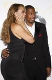 Mariah Carey i Nick Cannon Zdjęcie Royalty Free