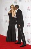 Mariah Carey i Nick Cannon Obrazy Royalty Free