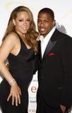 Mariah Carey i Nick Cannon Zdjęcia Stock