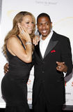 Mariah Carey i Nick Cannon Obraz Royalty Free