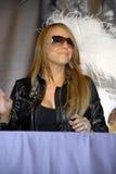 Mariah Carey an ihrem CD Kennzeichnen. Stockbilder
