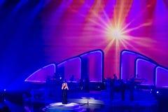 Mariah Carey Launches 'MARIAH 1 TO INFINITY' At Caesars Palace I Stock Photography