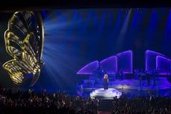 Mariah Carey Launches 'MARIAH 1 TO INFINITY' At Caesars Palace I Royalty Free Stock Image