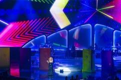 Mariah Carey Launches 'MARIAH 1 TO INFINITY' At Caesars Palace I Stock Image