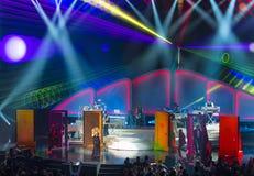 Mariah Carey Launches 'MARIAH 1 TO INFINITY' At Caesars Palace I Royalty Free Stock Photography