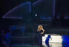 Mariah Carey Launches 'MARIAH 1 TO INFINITY' At Caesars Palace I Stock Images
