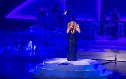 Mariah Carey Launches 'MARIAH 1 TO INFINITY' At Caesars Palace I Royalty Free Stock Photos