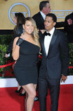 Mariah Carey & Nick Cannon royalty free stock photo