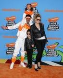 Mariah Carey, Nick Cannon, Marokański działo i Monroe działo, Zdjęcie Royalty Free