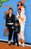 Mariah Carey, Nick Cannon, Marokański działo i Monroe działo, Zdjęcie Stock