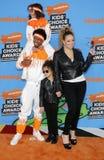 Mariah Carey, Nick Cannon, Marokański działo i Monroe działo, Obrazy Royalty Free