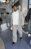MAriah Carey's husband singer Nick Cannon at LAX Royalty Free Stock Photos