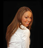 Mariah Carey. Singer, performer, entertainer Mariah Carey pauses to pose on the red carpet for the premiere of `Tennessee,` at the 7th Annual tribeca Film Royalty Free Stock Photo