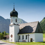 Mariahilf chapel in Tannheim Tirol Stock Photography
