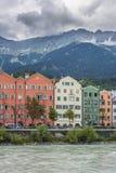 Mariahilf Street in Innsbruck, Austria. Royalty Free Stock Photo