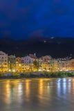 Mariahilf Street in Innsbruck, Austria. Royalty Free Stock Images