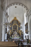 Mariahilferkirche Church interior in Graz, Austria. Our Lady of Succor Church or Mariahilferkirche interior in Graz, Austria Stock Image