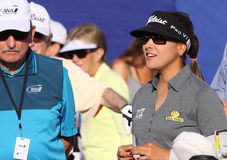 Mariajo Uribe at the ANA inspiration golf tournament 2015 Royalty Free Stock Image