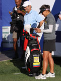 Mariajo Uribe at the ANA inspiration golf tournament 2015 Royalty Free Stock Photo