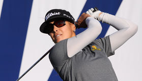 Mariajo Uribe au tournoi 2015 de golf d'inspiration d'ANA Photos stock