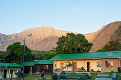 Free Mariakamba Hut Mount Meru, Arusha National Park Royalty Free Stock Photo - 128538535