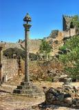 Marialva ruins and pillory in Meda Royalty Free Stock Photo